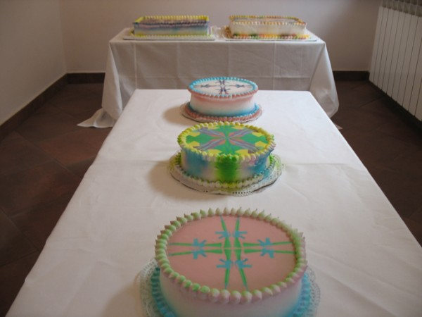 """Let Us Eat Cakes Exhibition View"" Now Art Now Future Biennial, 2008"