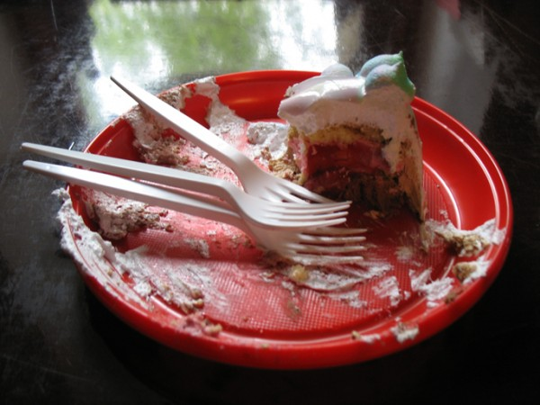 """Aftermath of Exhibition"", Eaten Digitally Printed F16 Cake, Now Art Now Future Biennial, 2008"